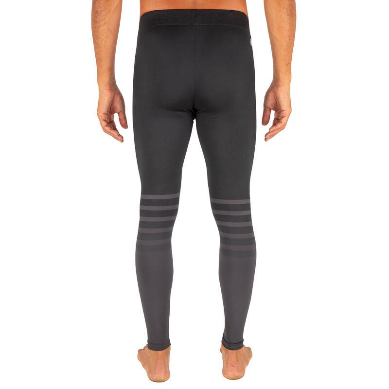 กางเกงเลกกิ้งผู้ชายมีคุณสมบัติป้องกันรังสียูวีสำหรับใส่โต้คลื่นรุ่น 100 (สีน้ำเงิน Slate Blue)