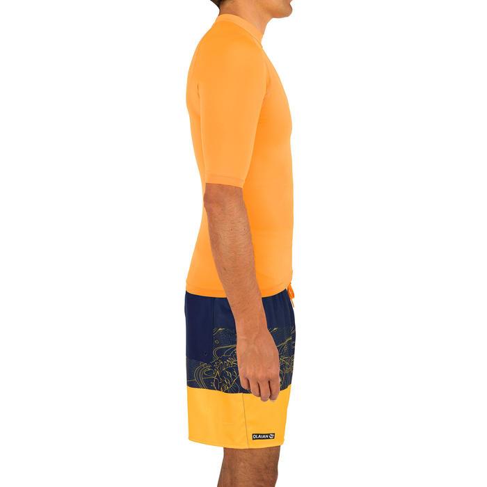 UV shirt heren 100 licht oranje