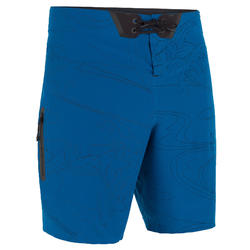 Surf boardshort standard 900 embossed blue