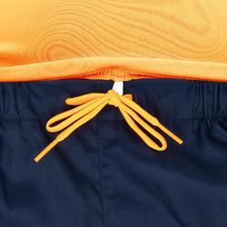 tee shirt anti uv surf top 100 manches courtes homme mandarine