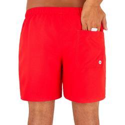 Zwembroek Heren rood Hendaia