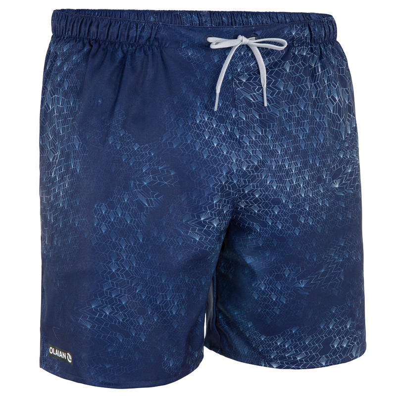 Surfing Short Boardshorts 100 - Dimension Blue