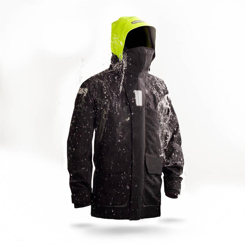 PÁNSKÉ JACHTAŘSKÉ OBLEČENÍ DO DEŠTĚ Jachting - PÁNSKÁ BUNDA OFFSHORE 900 TRIBORD - Jachtařské oblečení