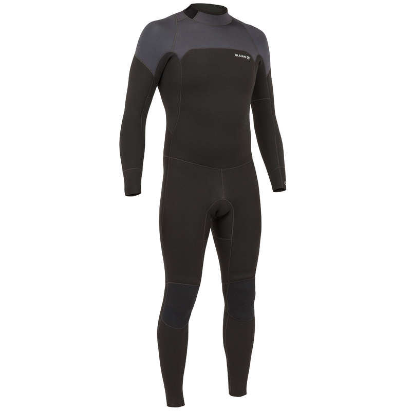 COLD WATER WETSUIT Surf - Surf wetsuit 4/3 500 M - Navy OLAIAN - Wetsuits