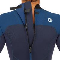 Men's Surfing Stretch Neoprene Shorty Wetsuit 500 - Blue