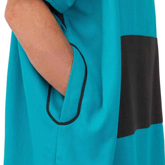 Adult Surf Poncho 500 - Blue