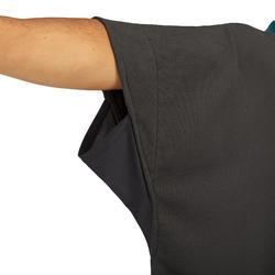 Surfponcho voor volwassenen 500 zwart