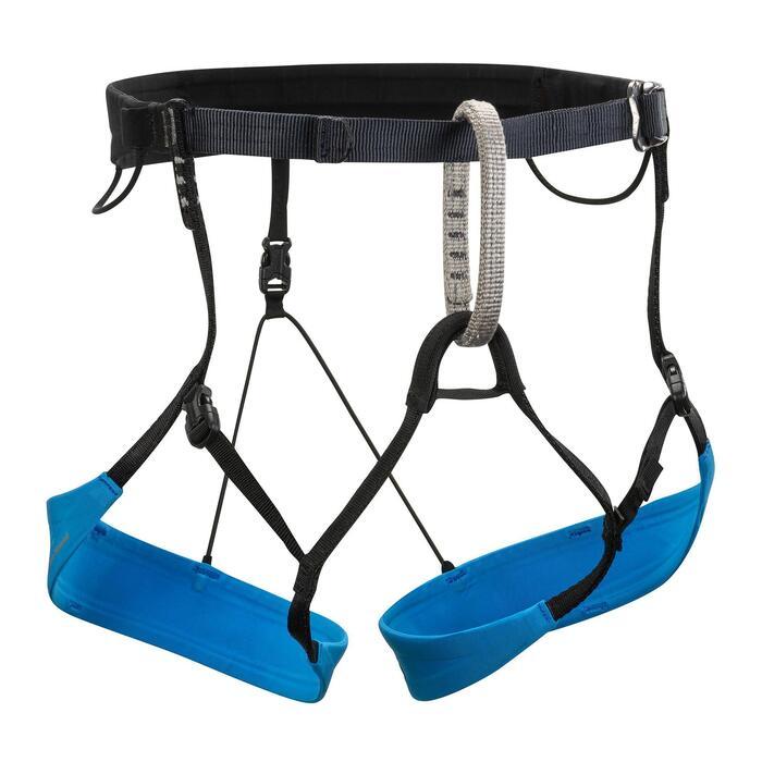 Harnais d'alpinisme et de ski-alpinisme - COULOIR Bleu