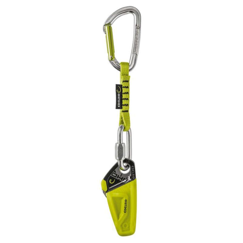Karabiner, biztosító eszköz Sziklamászás, alpinizmus - Expressz OHM Edelrid EDELRID - Sziklamászó felszerelés