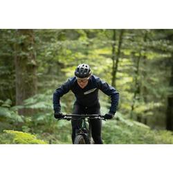 Mountainbikejas XC slim fit blauw