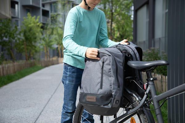 Fahrradtasche Fahrradrucksack Online Kaufen Decathlon