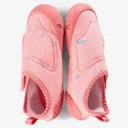 Gymschoenen voor kleutergym 580 Babylight roze/print