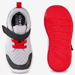 Schoentjes 520 I Learn Breath+++ voor kleutergym grijs rood