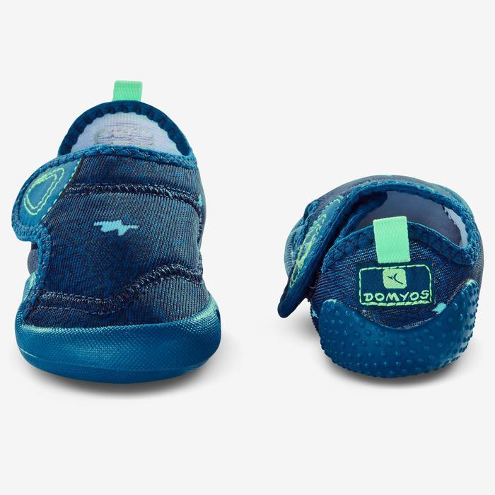 Gymschoenen 580 Babylight print blauw