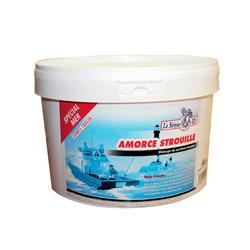 Emmer strouille lokvoer 3 kg vissen op zee