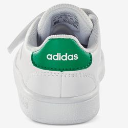 Turnschuhe Advantage weiß/grün