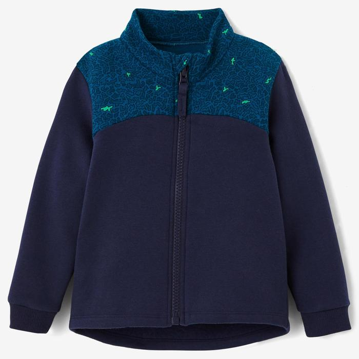 Veste Baby Gym 120 bleu graph