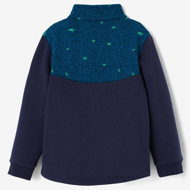 120 Baby Gym Jacket - Blue Print
