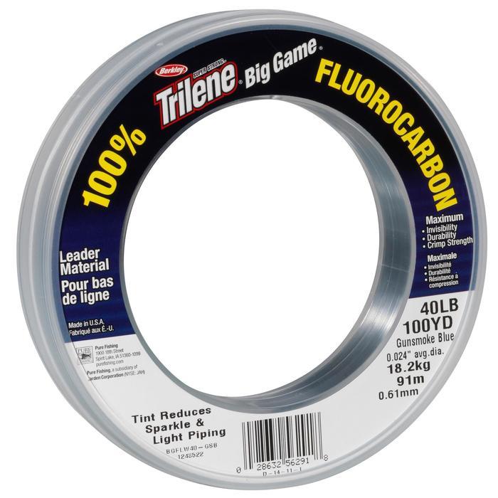 Fluorocarbon voor kunstaasvissen Big Game Fluoro 80 lbs 74 m