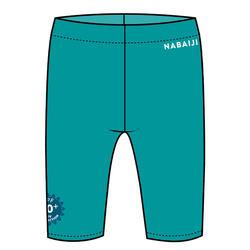 嬰幼兒抗紫外線短版泳褲 - 藍色