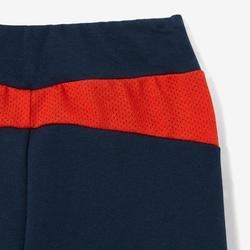 Trainingsanzug 500 Babyturnen blau/rot