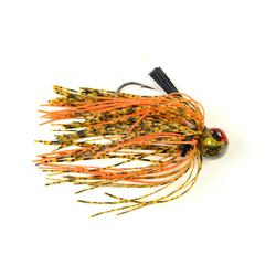 LEURRE PÊCHE DU BLACK BASS RUBBER JIG FOOTBAL 3/4 OZ OC
