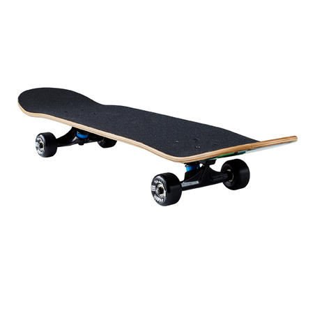 Kids' 8-12 Years Skateboard Mid 500 Monkey