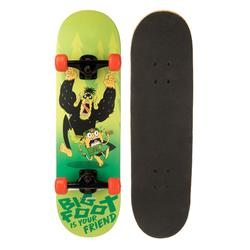Skateboard Mid100 Big Foot für Kinder 5–7 Jahre grün