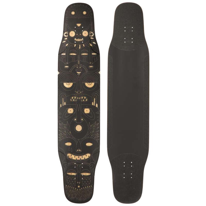 Longboardok és kiegészítők Gördeszka, waveboard, longboard - Longboard lap Dancing  OXELO - Longboard