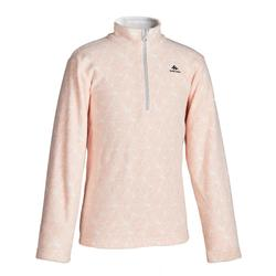 Children's Hiking fleece MH100 CN 7-15 years - Pink