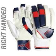 MEN'S SAFETY TESTED IMPACT PROTECTION CRICKET BATTING GLOVES GL100, RH RED