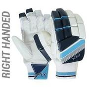 MEN'S SAFETY TESTED, IMPACT PROTECTION CRICKET BATTING GLOVES RH GL500, TURQUOIS