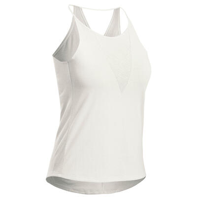 Camiseta esqueleto senderismo naturaleza - NH500 Fresh - Mujer