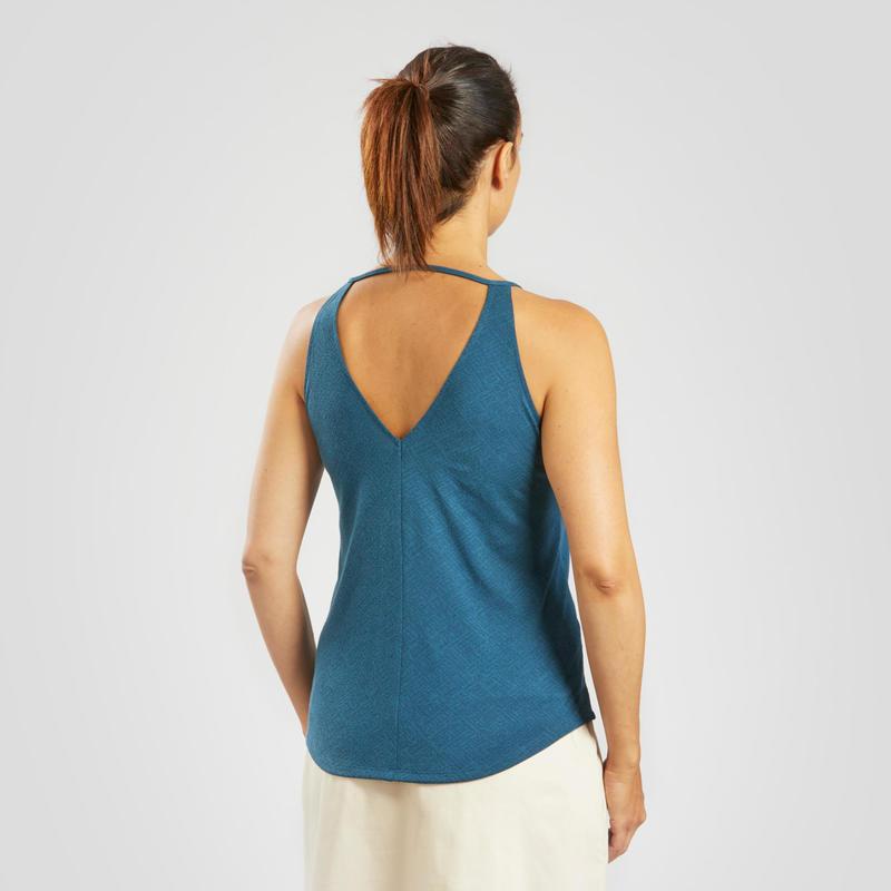 Women's Country walking vest – NH500 Fresh