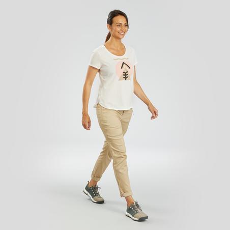 T-shirt de randonnéeNH500 - Femmes