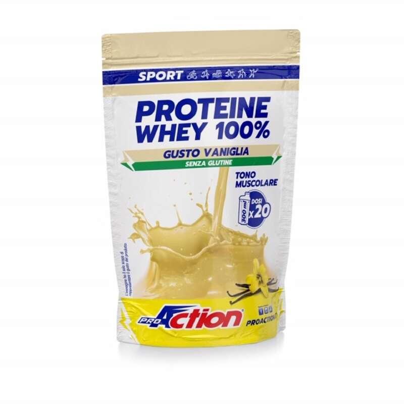 PROTEINE E COMPLEMENTI ALIMENTARI Proteine mantenimento muscolare - whey busta vaniglia proaction PROACTION - Boutique alimentazione 2019