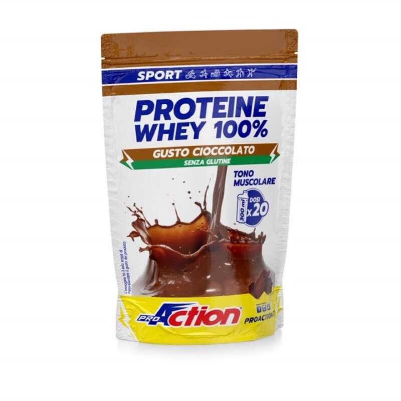 PROTEINE E COMPLEMENTI ALIMENTARI Proteine mantenimento muscolare - whey busta cioccol. proaction PROACTION - Boutique alimentazione 2019