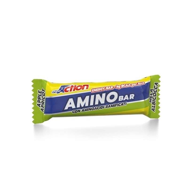 BARRETTE, GEL E RECUPERO Attività fisica intensa - amino bar mela albicocca 40g PROACTION - Boutique alimentazione 2019