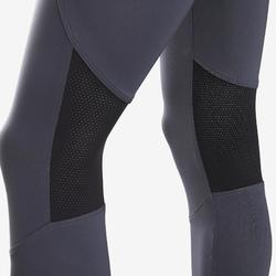 Legging synthétique respirant S500 fille GYM ENFANT gris uni