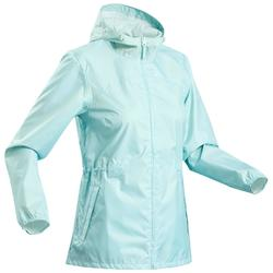 Regenjas voor wandelen dames Raincut Zip