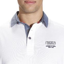Blason 馬術運動短袖POLO衫 - 白