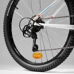Kinder mountainbike Rockrider St 500 24 inch kinderfiets Wit 1.35-1.50m
