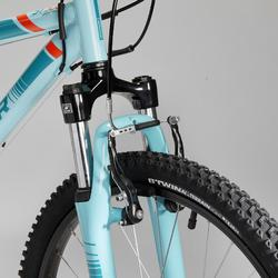 MOUNTAINBIKE VOOR KINDEREN 9-12 JAAR ROCKRIDER ST 500 24 INCH Blauw