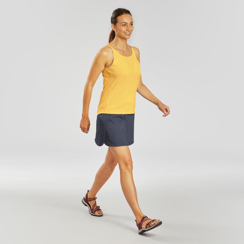 Women's Country Walking Skort - NH100 Fresh