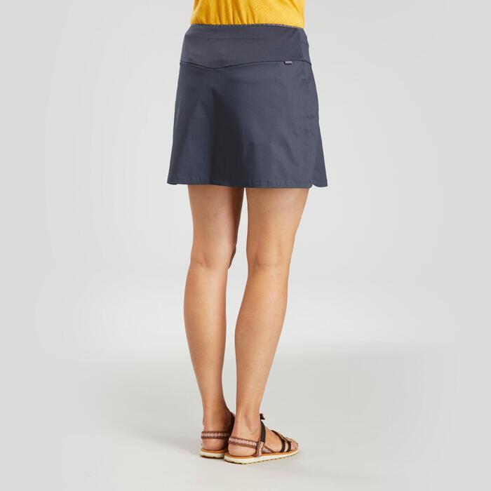 女款郊野健行短褲裙NH100 Fresh