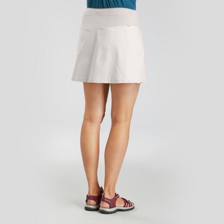 Rok Celana Jalan Pedesaan Wanita NH100 Fresh - Beige