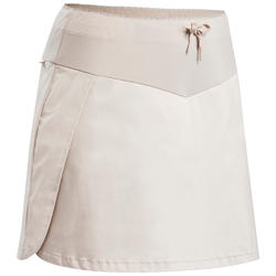 Women's Hiking Skort NH100 - Biege