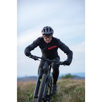 Fahrradjacke MTB XC schwarz/rot