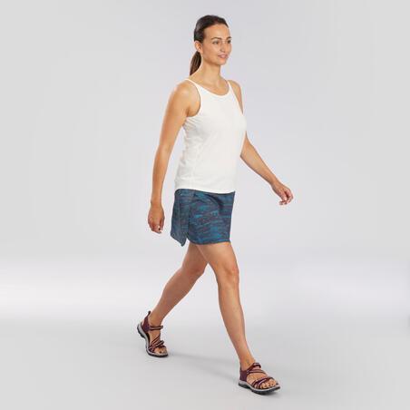 Falda-short de senderismo en naturaleza - NH100 Fresh - Mujer