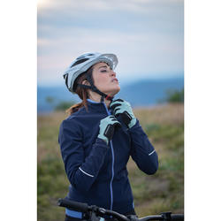 Fahrrad-Handschuhe MTB ST 100 grün
